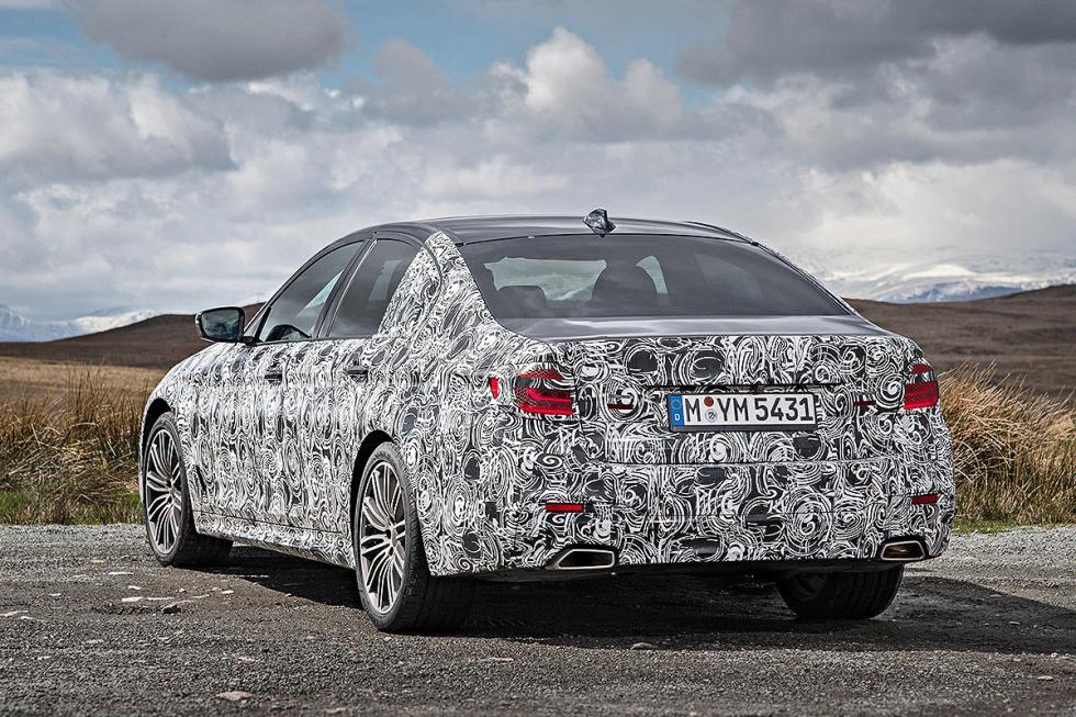 BMW Serie 5 2016 pilotos
