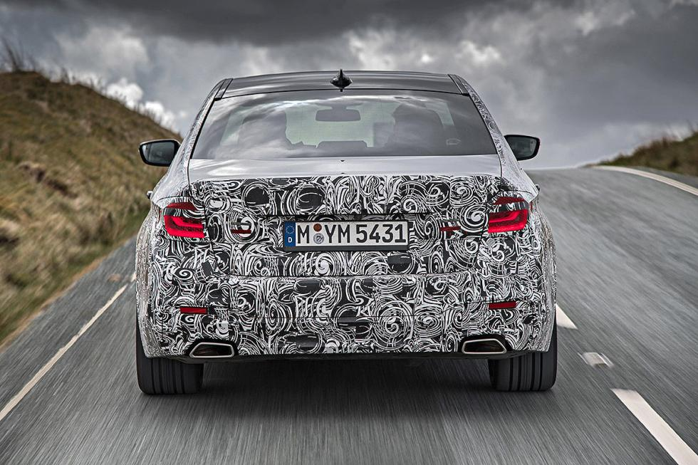 BMW Serie 5 2016 carretera