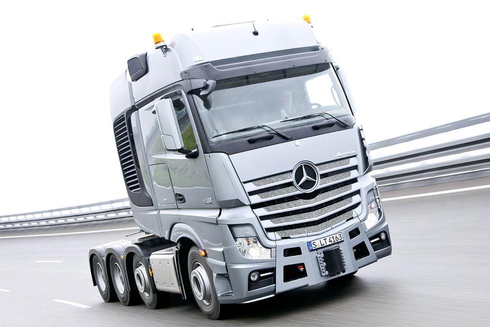 Mercedes Actros SLT, 625 CV de 6 cilindros, 15,6 l., 3000 Nm