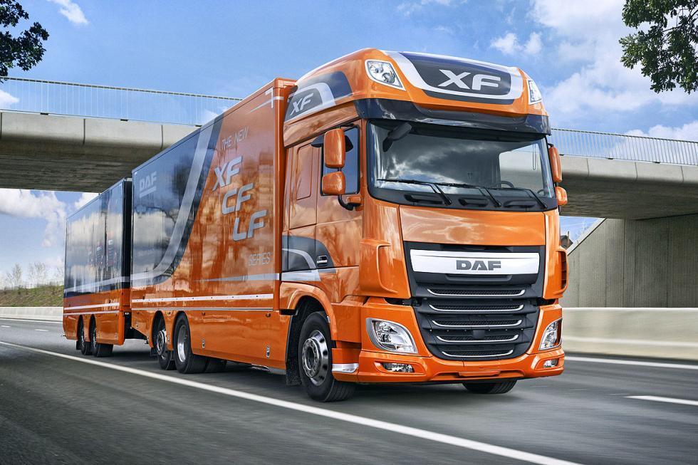 DAF XF, 510 CV und 2500 Nm