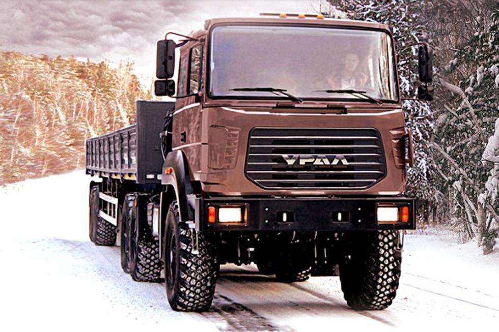 GAZ Ural 63704M (412 CV, 1872 Nm)