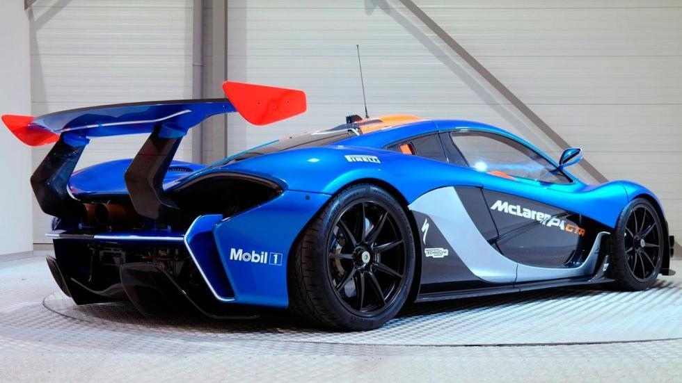 McLaren P1 GTR trasera