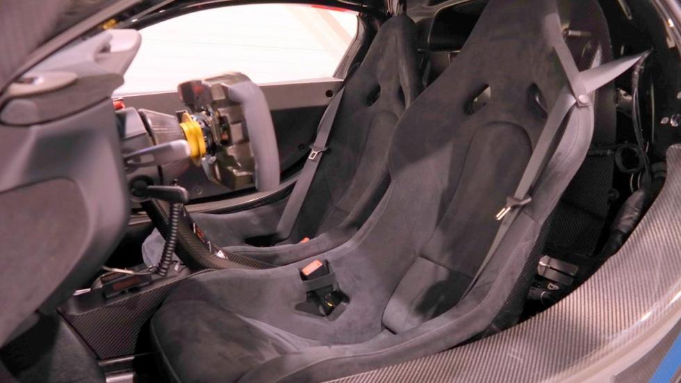 McLaren P1 GTR asientos