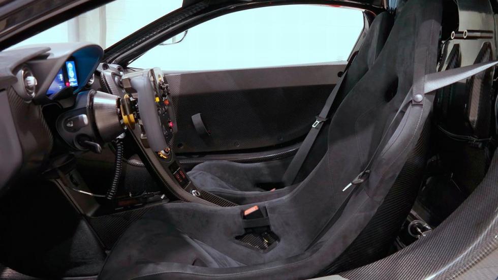 McLaren P1 GTR interior