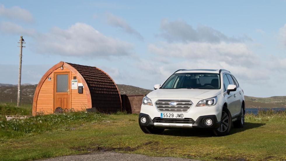 Subaru Outback cabaña isle harris