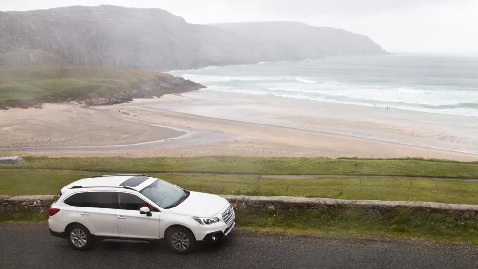 Subaru Outback playa isle harris