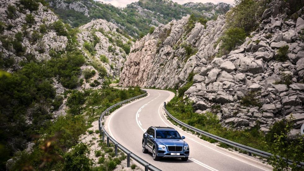 Bentley Bentayga diésel dinámica