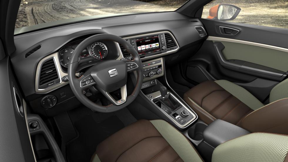 Seat Ateca X-Perience interior
