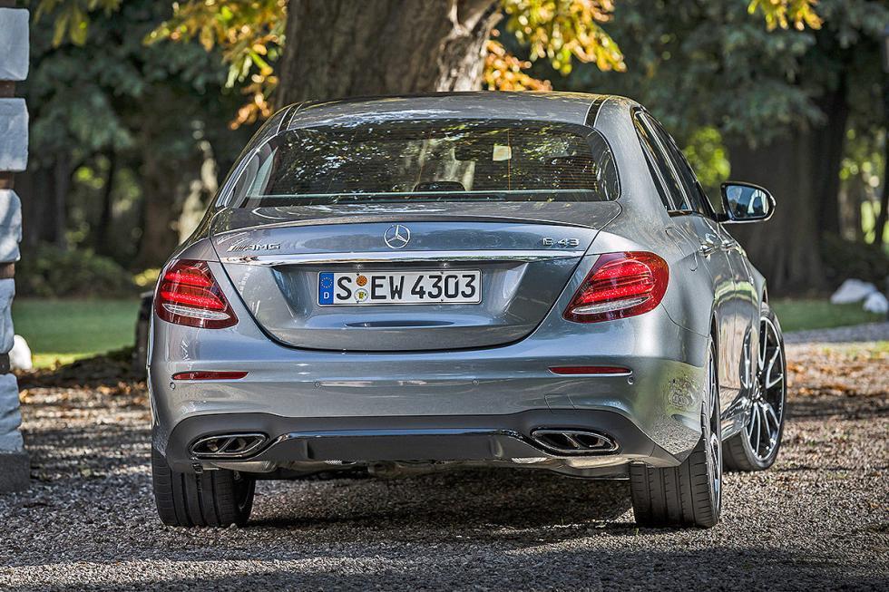 Prueba: Mercedes AMG E 43