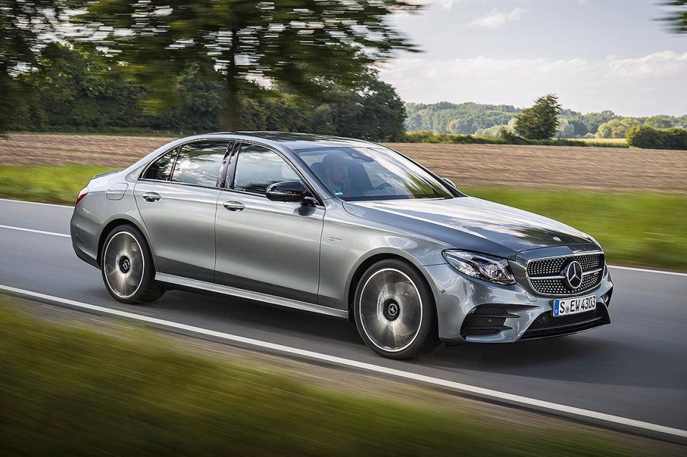 Prueba: Mercedes AMG E 43 morro