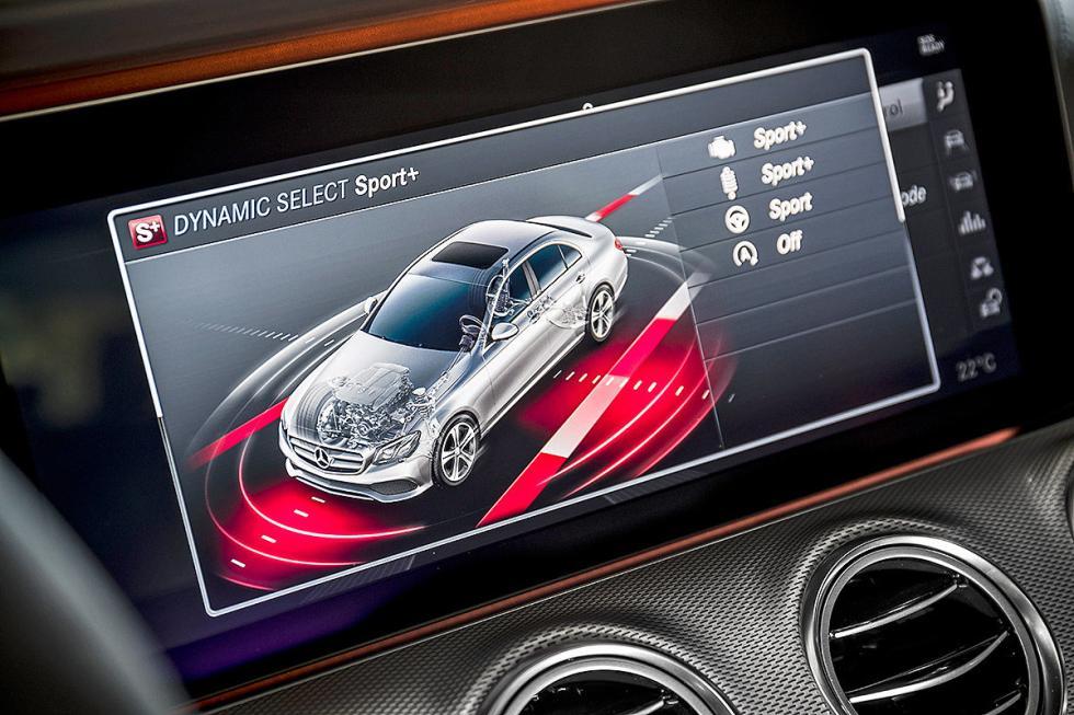 Prueba: Mercedes AMG E 43 pantalla