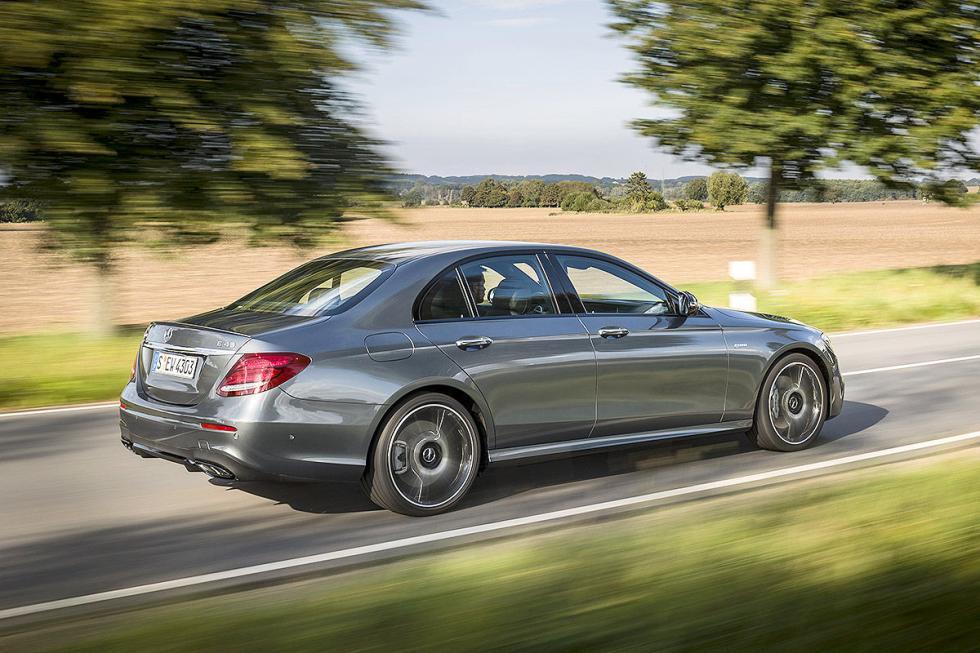 Prueba: Mercedes AMG E 43 zaga