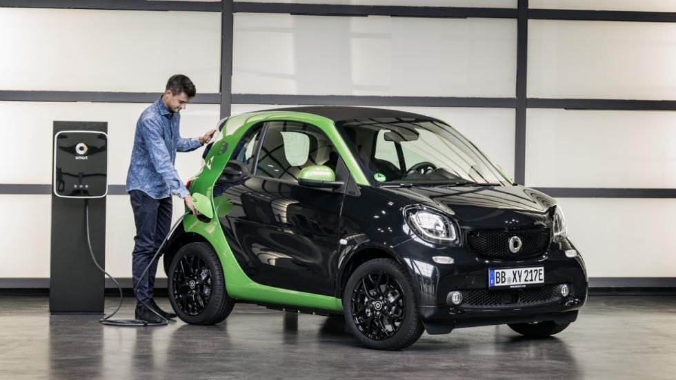 smart fortwo electric drive 2017 delantera