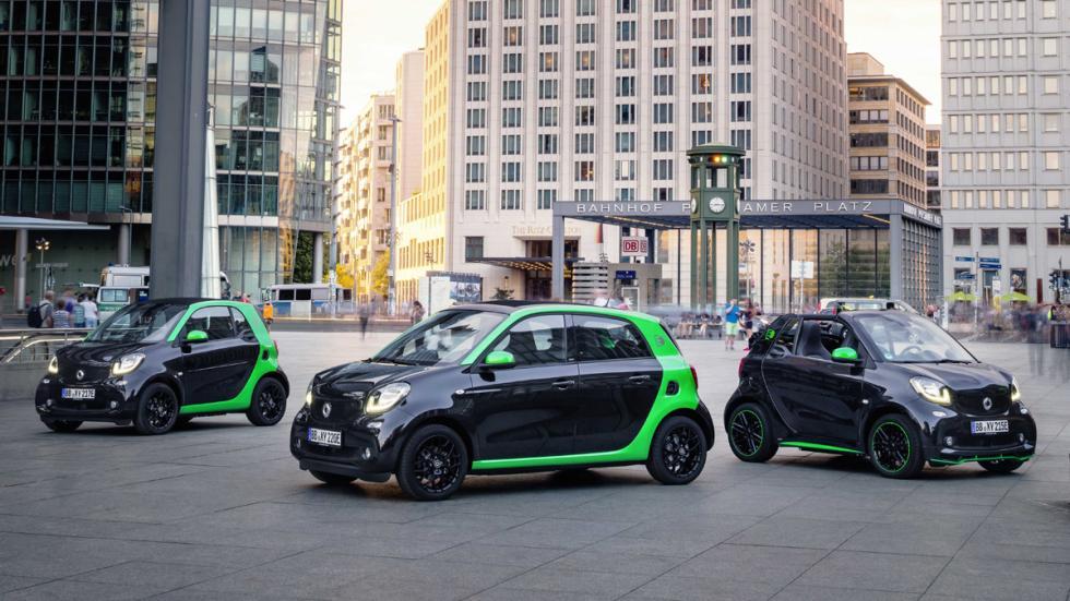 novedades salón parís 2016 gama Smart electric drive 2017