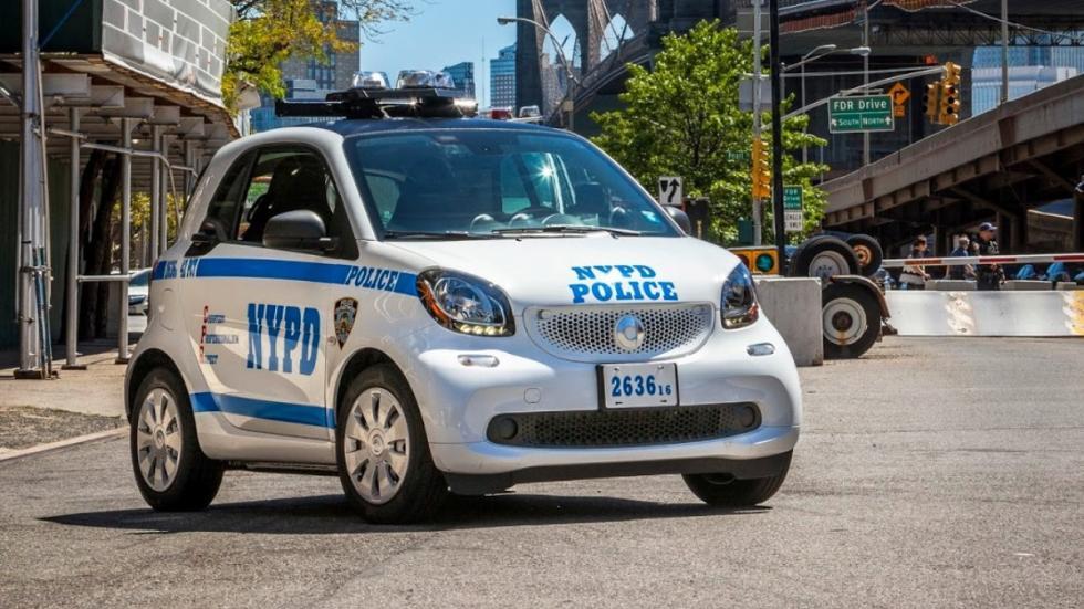 Smart ForTwo Policia Nueva York