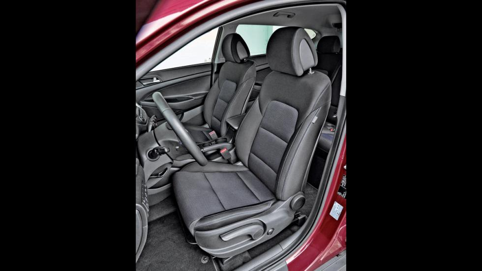 Hyundai Tucson asientos delanteros
