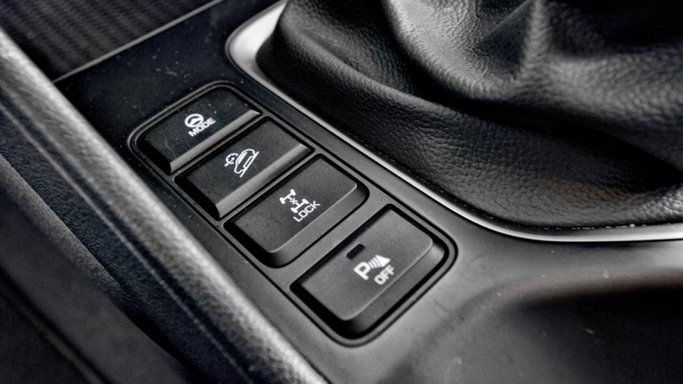 Hyundai Tucson botones