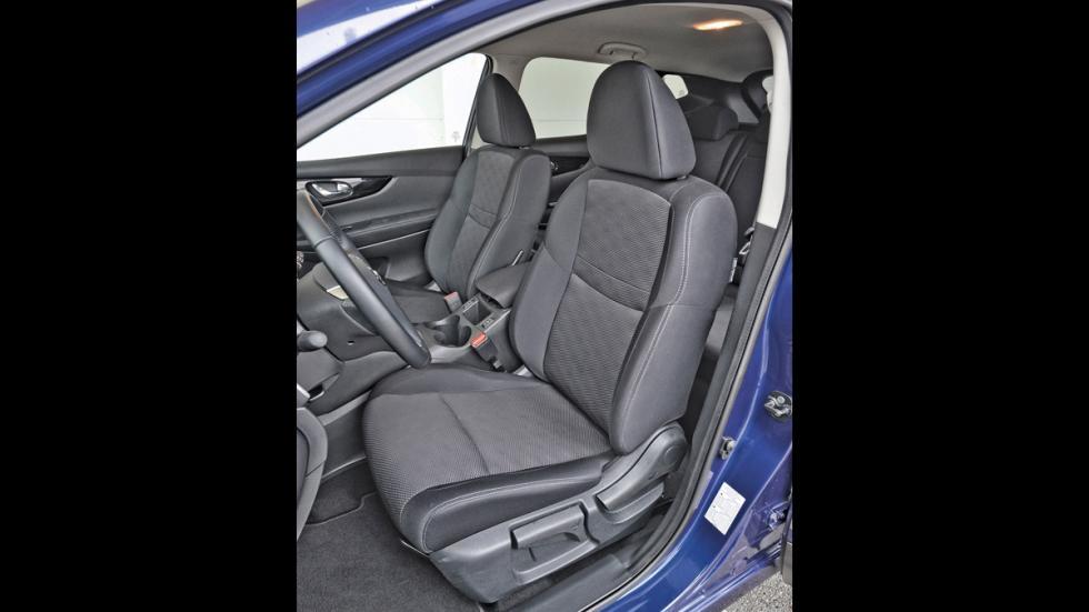 Nissan Qashqai asientos delanteros