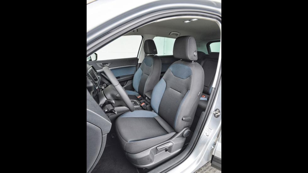 Seat Ateca asientos delanteros