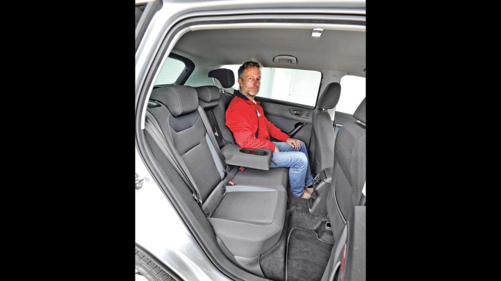 Seat Ateca asientos traseros
