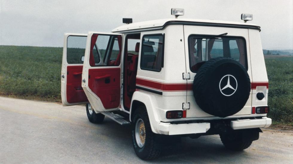 AMG 280 GE 5.6 Sport de 1979 zaga