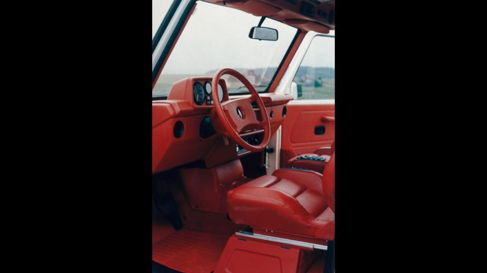 AMG 280 GE 5.6 Sport de 1979 interior