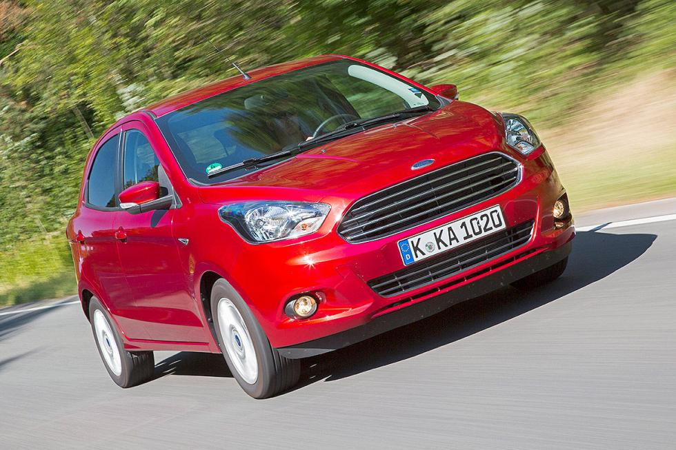 Prueba: nuevo Ford Ka+