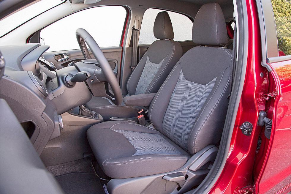 Ford Ka+ zaga detalle asientos