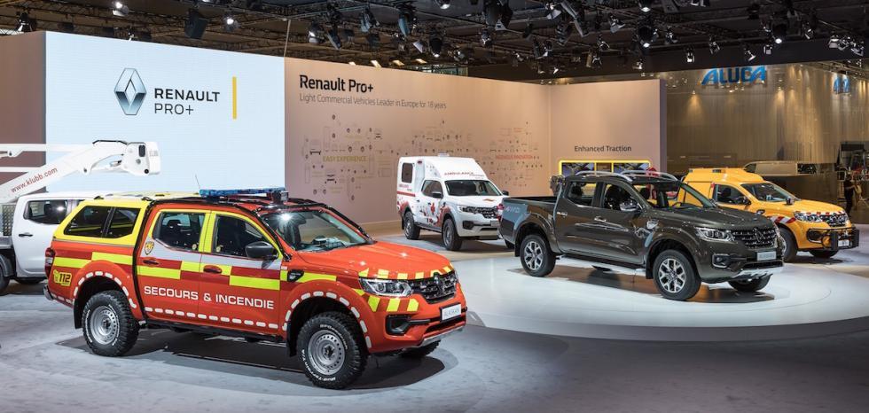 Hanover de los acabados especiales del Renault Alaskan