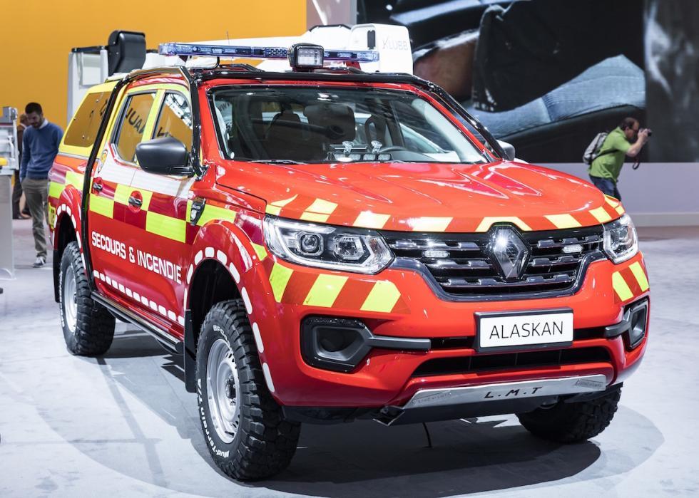 El Renault Alaskan de bomberos