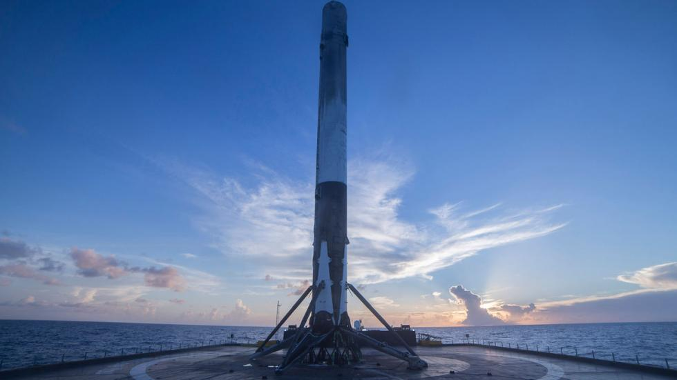 cohete Raptor de SpaceX
