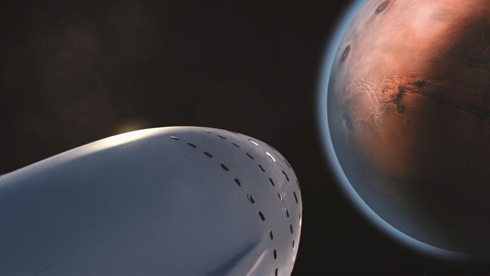 transbordador de Spacex