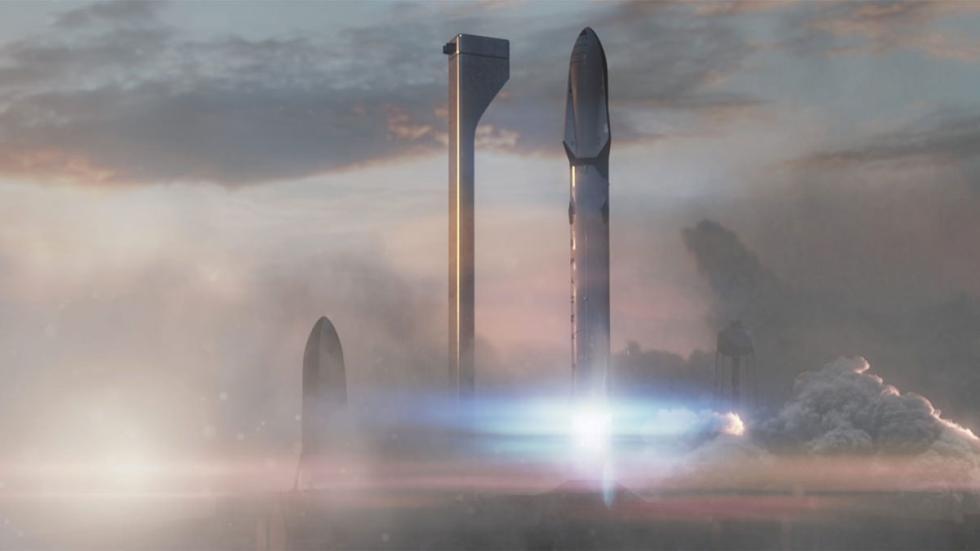 Esta es la pinta que tendría la plataforma de lanzamiento del sistema de transpo