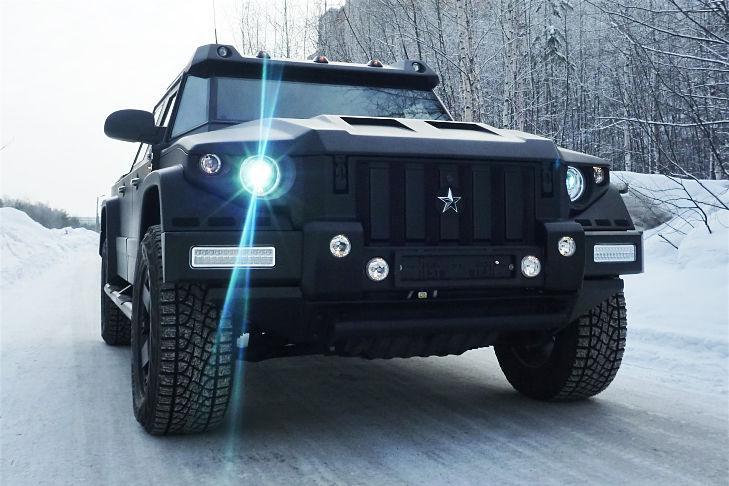 El fabricante de vehículos especiales báltico Datz tiene su modelo de gran lujo