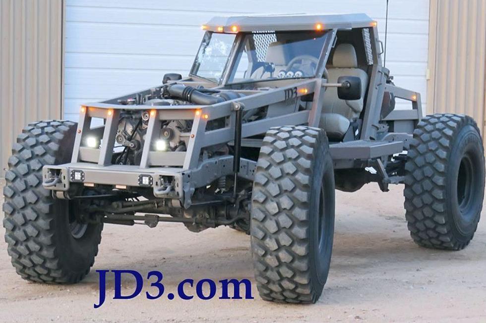 JD3 Rockzilla: motores gasolina de 10 cilindros o diésel V8. Pasa por cualquier