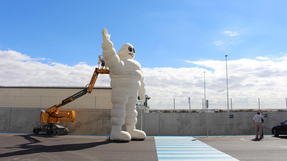 bibemdum centro logístico de Michelin en Illescas