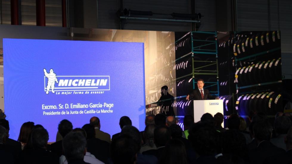 El centro logístico de Michelin en Illescas