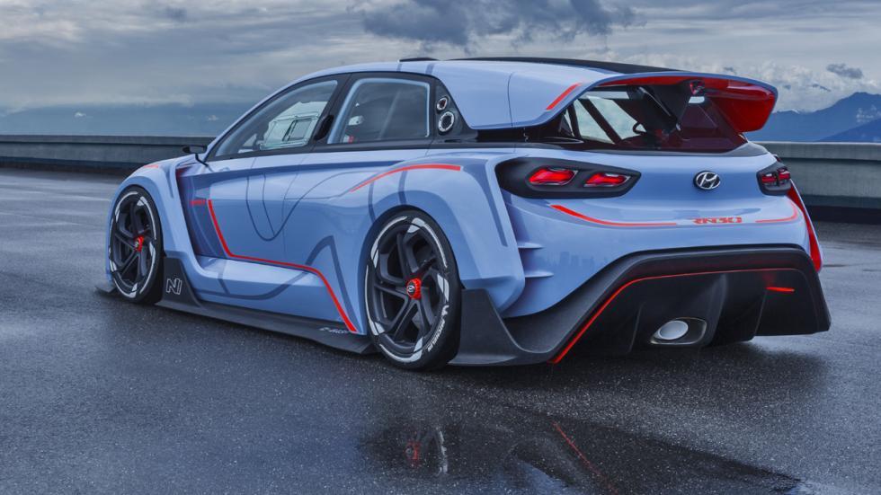 Hyundai RN30 Concept trasera