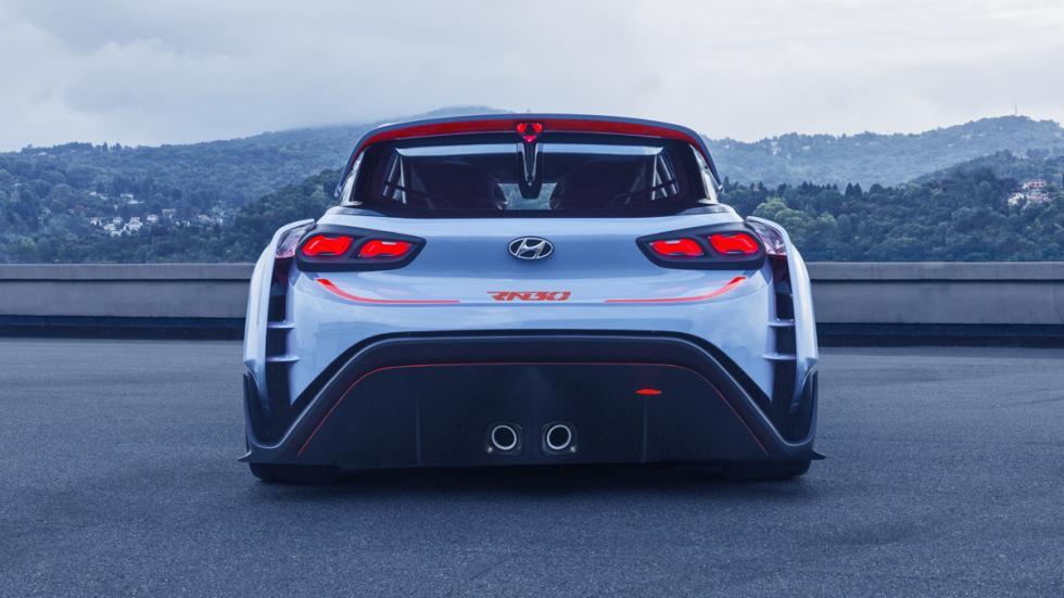 Hyundai RN30 Concept culo