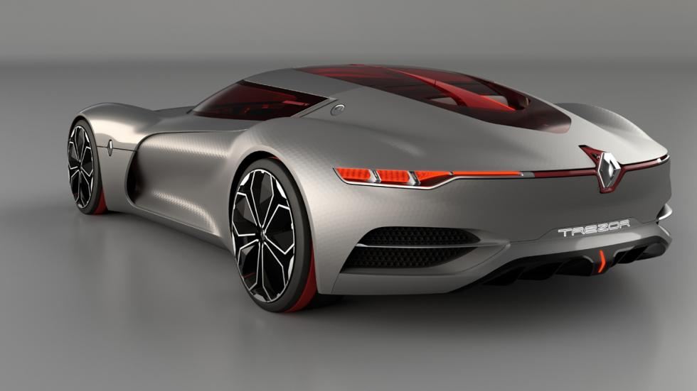 Renault Trezor Concept trasera