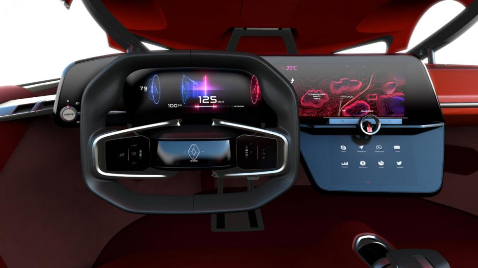 Renault Trezor Concept salpicadero