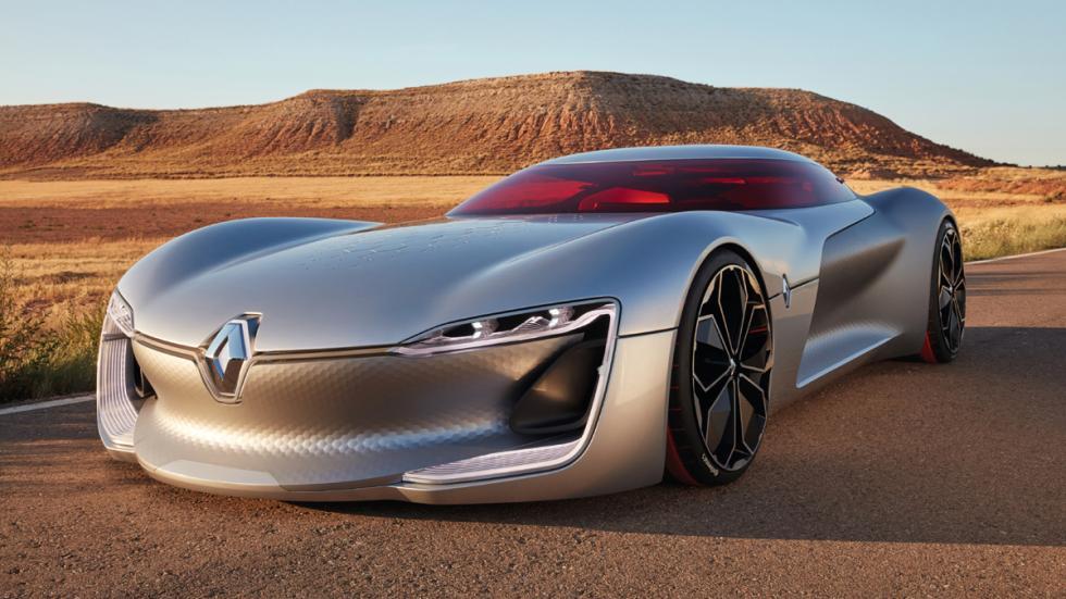 novedades salón parís 2016 Renault Trezor Concept