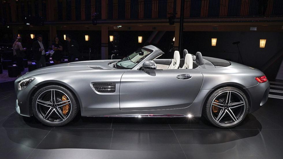 Mercedes AMG GT C Roadster lateral