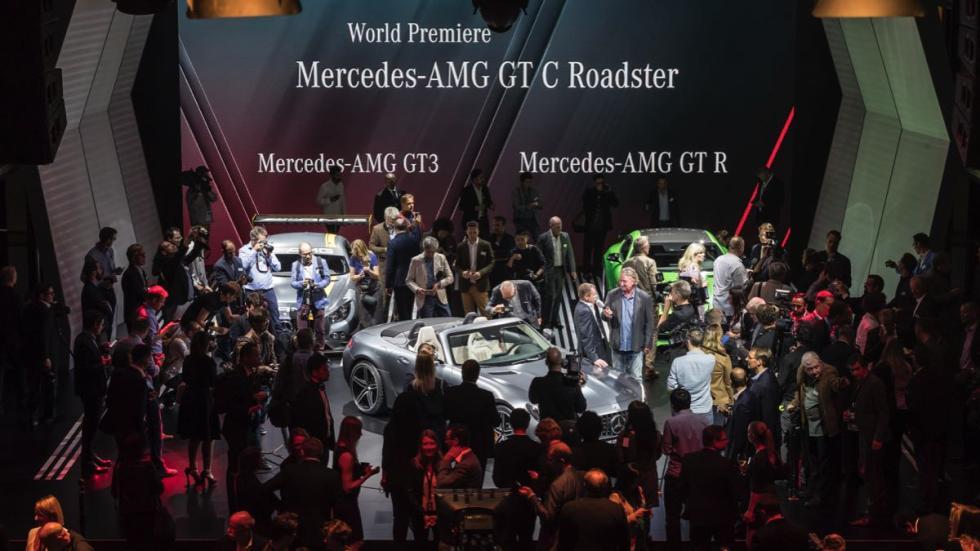 Mercedes AMG GT C Roadster público