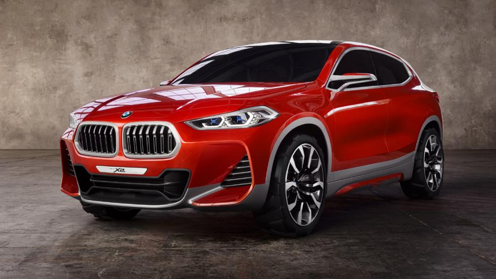 BMW Concept X2 delantera