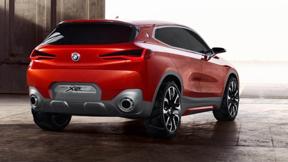 BMW Concept X2 detalle trasera