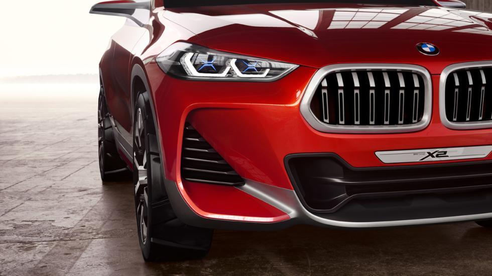 BMW Concept X2 detalle morro