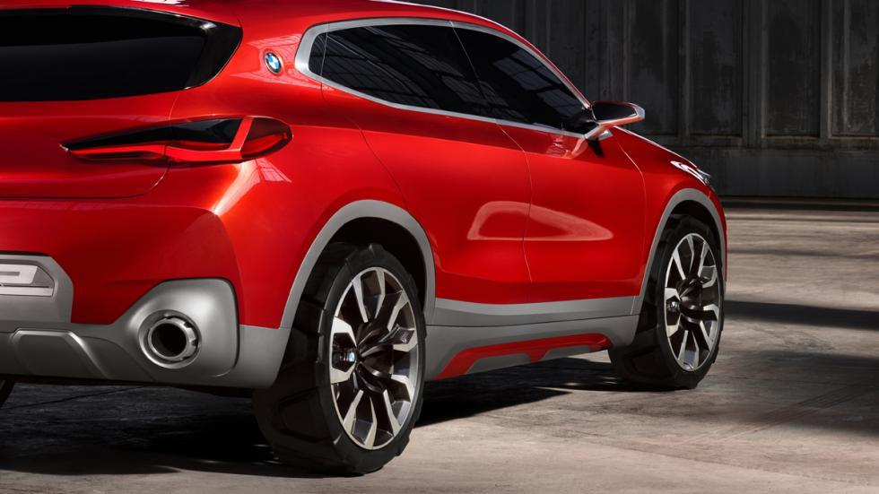 BMW Concept X2 detalle zaga