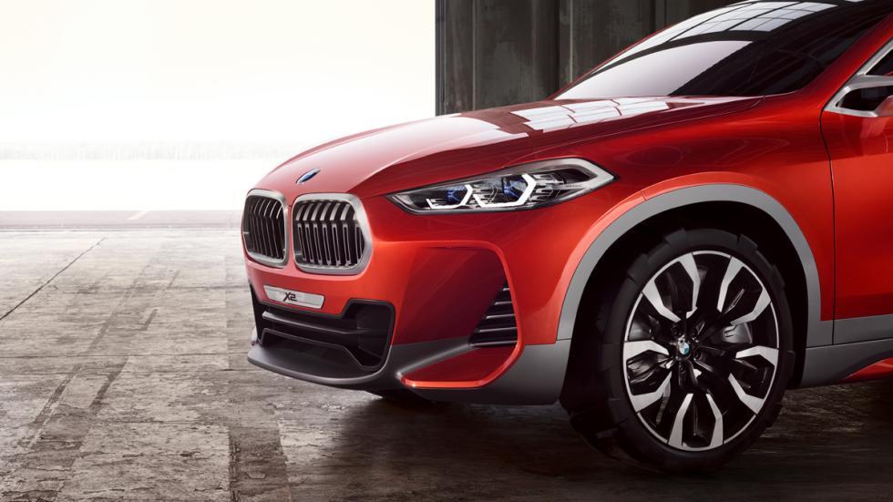 BMW Concept X2 detalle delantera