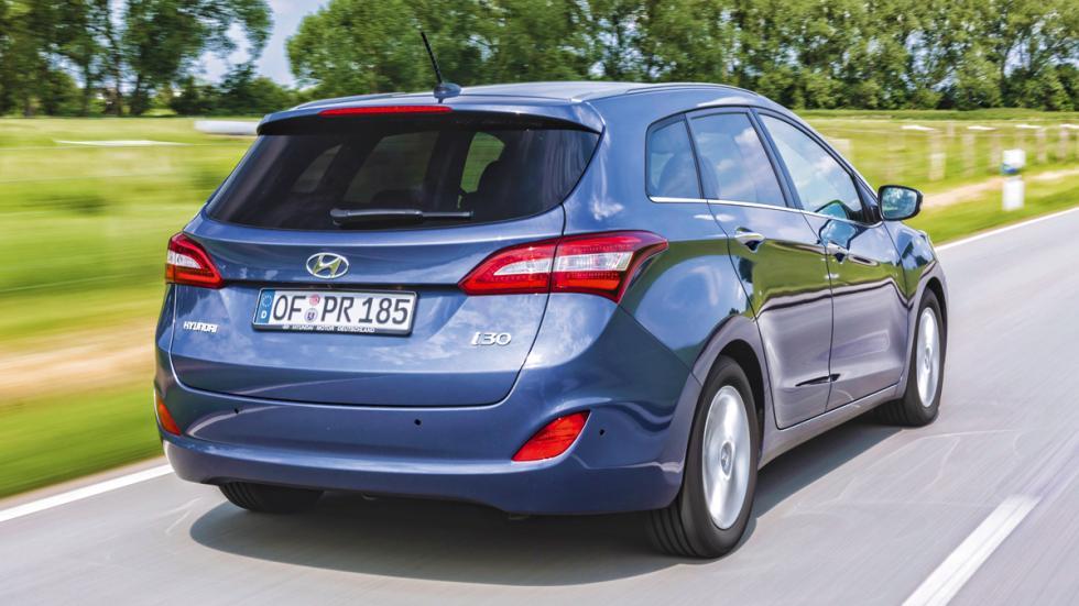 Hyundai i30 CrossWagon trasera
